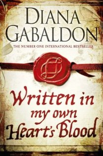 Written in my own heart's blood book cover.