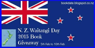 New Zealand author  book giveaway banner