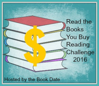 Read the Books You Buy Reading Challenge 2016 Badge