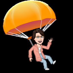 Bitmoji parachute